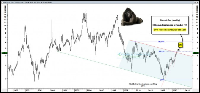 800 pound Gorilla is setting on Natural Gas!