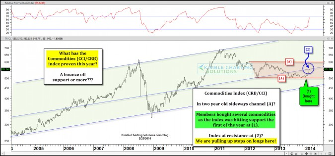 Have commodities entered into a new bull market phase?