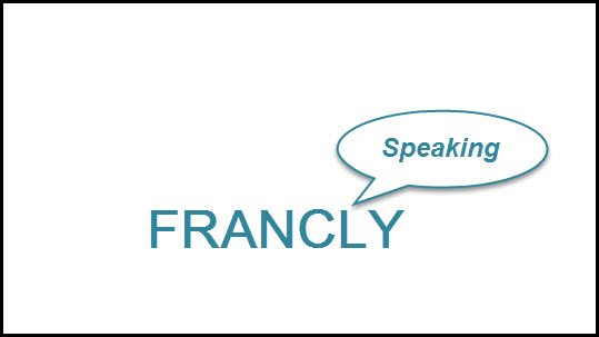 """Francly Speaking"" this indicator suggests Gold is to head lower!"