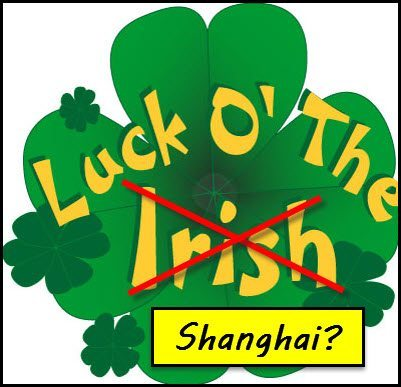 Will the Chinese be luckier than the Irish?