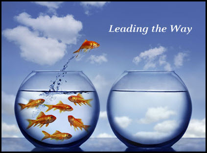 leading the way fish pic