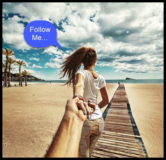 follow me pic