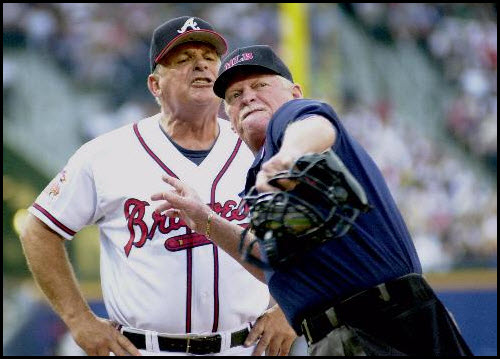 your outta here ump throwing coach out