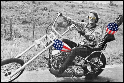 Harley Davidson breaking above bullish falling wedge