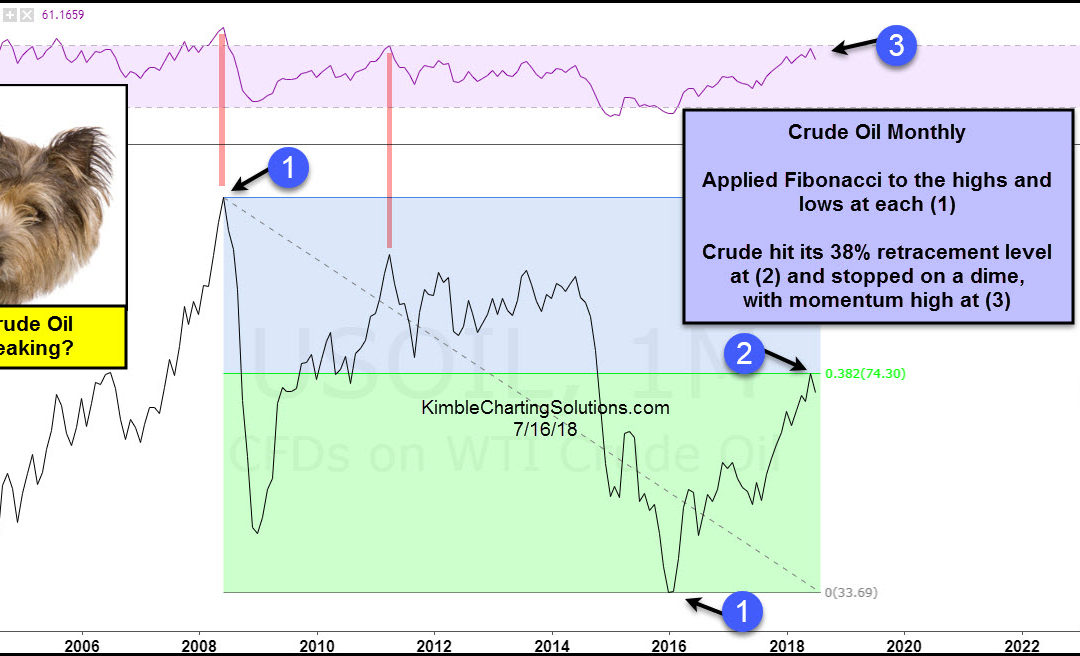 Crude Oil Could Be Peaking!
