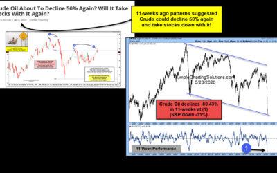 Crude Oil Crash Follows Topping Signal 11 Weeks Ago