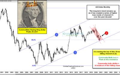 Commodities Bulls Hope US Dollar Peaks Here!