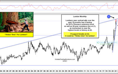 """Is It """"Timber Time"""" For Overheated Lumber Prices?"""